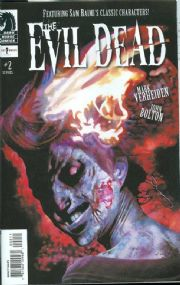 The Evil Dead #2 Movie Adaptation Dark Horse Comics